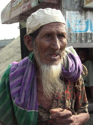 Old Bangladeshi man