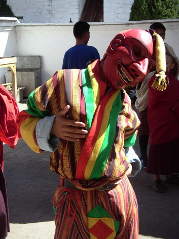 Tsechu clown