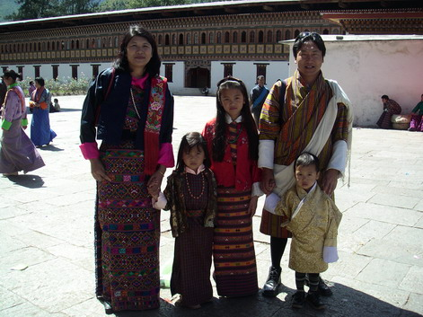 Dawa and family