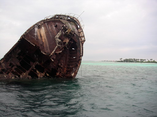 Maldives: Shipwreck